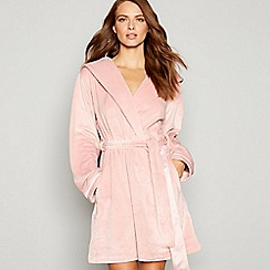 B by Ted Baker - Light pink embossed dressing gown