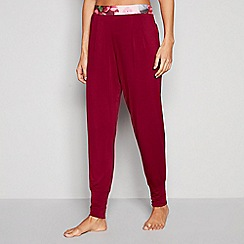 B by Ted Baker - Light Pink 'Palace Gardens' Pyjama Bottoms
