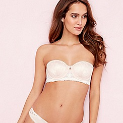 B by Ted Baker - Pink floral lace balcony bra