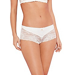 B by Ted Baker - Ivory floral lace shorts
