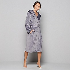 B by Ted Baker - Grey hooded dressing gown
