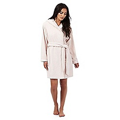 B by Ted Baker - Pink embossed bow dressing gown