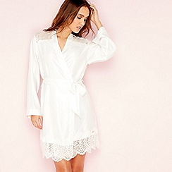 6b85fb2d67 B by Ted Baker - Ivory  Tie the Knot  lace kimono