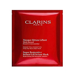 Clarins - 'Super Restorative' instant lift serum-mask 5 sachet