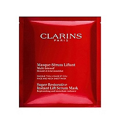 Clarins - 'Super Restorative' instant lift serum-mask