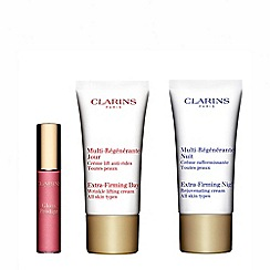 Clarins - 'Extra-Firming And Lips' skincare gift set