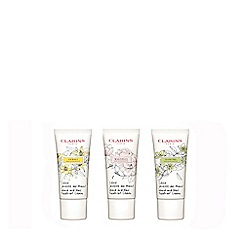 Clarins - Limited edition hand and nail treatment cream trio set