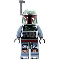 LEGO - Star Wars Boba Fett Minifigure Clock