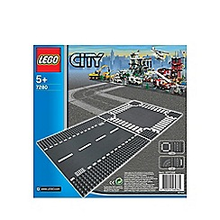 LEGO - City Straight & Crossroads - 7280