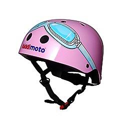 kiddimoto - Helmet 2 Years+ Pink Goggle