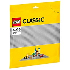 LEGO - Classic Gray Baseplate - 10701