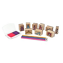 Melissa & Doug - Princess stamp set