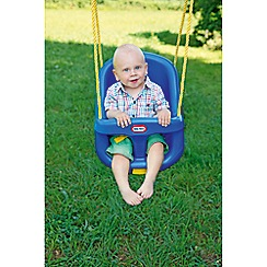 Little Tikes - High Back Toddler Swing - Blue