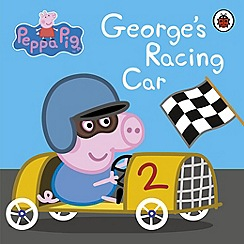 Peppa Pig - George's Racing Car board book