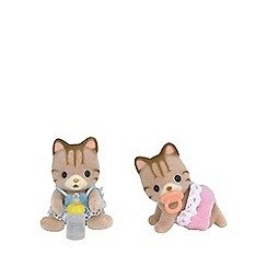 Sylvanian Families - Striped Cat Twins