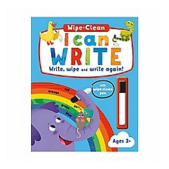Parragon - I can write wipe clean activity book