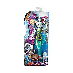 Monster High - Great scarrier reef glowsome ghoulfish frankie stein doll
