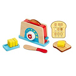 Melissa & Doug - Let's Play House! Bread & Butter Toast Set - 19344