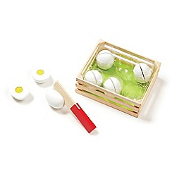 Melissa & Doug - Slice & Sort Wooden Eggs - 19301
