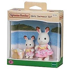 Sylvanian Families - Seaside girls swimwear 2 figure pack