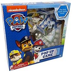 Paw Patrol - Pop Up Game