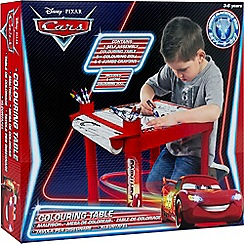Disney Cars - Colouring table