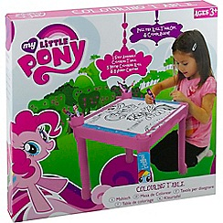 My Little Pony - Colouring table with 5m roll
