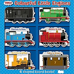 Thomas & Friends - Colourful Little Engines Book