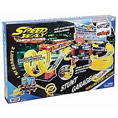 Motormax - Stunt Garage Playset