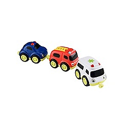 Early Learning Centre - Emergency Vehicles Magnetic Trio Set