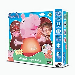 Peppa Pig - Inflatable Sleep Trainer with Lights and Sounds