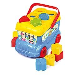 Baby Clementoni - Mickey Mouse Shape Sorter Bus