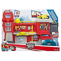 Transformers - Playskool Heroes Rescue Bots Griffin Rock Firehouse Headquarters