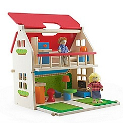 Pintoy - Pack and go balcony doll house