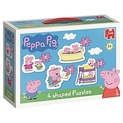 Peppa Pig - 4in1 Shaped Puzzle