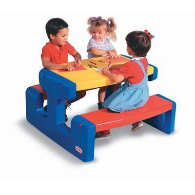Little Tikes Large Picnic Table Primary Debenhams