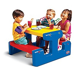 Little Tikes - Junior Picnic Table - Primary