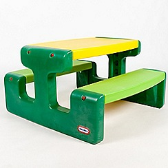 Little Tikes - Large Picnic Table - Evergreen