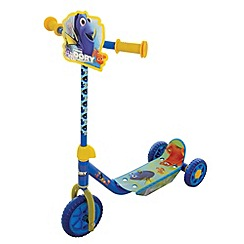 Disney PIXAR Finding Dory - Blue and Yellow Tri-Scooter