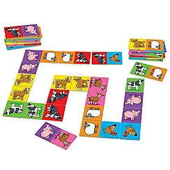 Orchard Toys - Giant farmyard dominoes