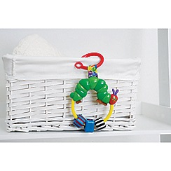 The Very Hungry Caterpillar - Attachable ring rattle