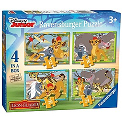 Disney The Lion Guard - 4 in a Box Jigsaw Puzzles