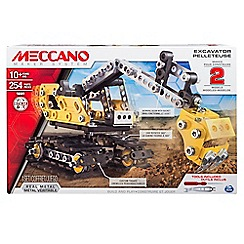 Meccano - Meccano excavator