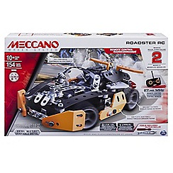 Meccano - Sports Roadster RC Construction Set