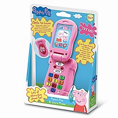 Peppa Pig - Flip-up phone