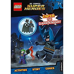 LEGO - DC Comics Super Heroes 'Enter The Dark Knight' activity book