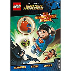 LEGO - DC Comics Super Heroes 'The Otherworldly League' activity book