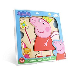 Peppa Pig - Wooden Puzzle Tray