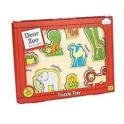 Dear Zoo - Wooden Puzzle Tray