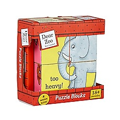 Dear Zoo - Wooden Puzzle Blocks